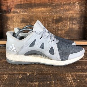 Women's Adidas Pureboost Xpose Gray Shoes Size 9.5